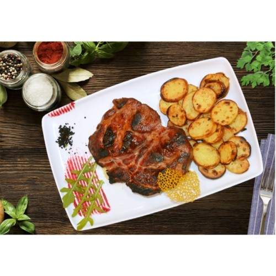 Grilled Pork Collar (675gr)